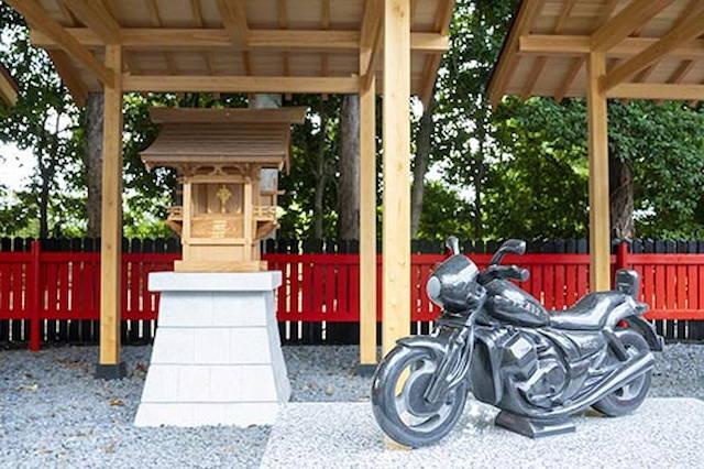 バイク神社